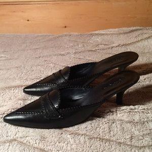 Cole Hann Black Heels Size 9B